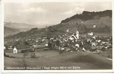 AK Oberstaufen, bayrisches Allgäu 1929 s/w Stempel Oberstaufen