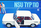 1966 1967 NSU Typ Type 110 16-page Grade-B Car Sales Brochure Catalog