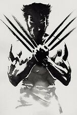 Hugh Jackman Wolverine Fabric Art Cloth Poster 20inch x 13inch Decor 11