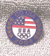 2004 Go Usa Olympic Pin