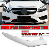 Für Mercedes-Benz W212 E-Klasse AMG FrontBumper Right Chrome Trim Molding Lip