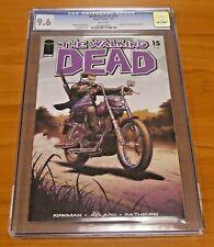 The Walking Dead #15 Image Comics 2005 CGC Graded 9.6 Death of Chris Rachel