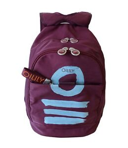 Oilily Fun Nylon Backpack Burgundy Damen Rucksack Burgundrot NEU