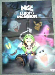 72315 NGC Poster Luigi's Mansion Magazine 2001