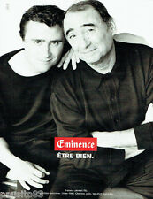 PUBLICITE ADVERTISING  046  1999  Eminence chemise polo  P & A. Brasseur