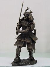 SAMURAI WARRIOR FIGURINE SWORD INFANTRY BUSHI ARMOR STATUE