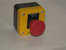 Emergency stop button station, twist to release, CE,  1 N/C contact PT/A1