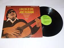 JOSE FELICIANO - A Bag Full Of Soul - Folk, Rock And Blues - 1966 UK LP