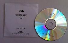 365 One Touch PROMO DJ CD SINGLE 2006 boyband boy band pop EMI Innocent