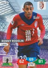 LOSC-10 RONNY RODELIN # LILLE CARD ADRENALYN FOOT 2014 PANINI