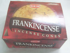 Hem Frankincense Incense Cones, Bulk Lot 12 Pack of 10 Cones, 120 Total!