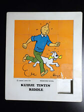 Puzzle Riddle Tintin 1976 TBE
