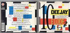 DEEJAY 10 E LODE 2 1993 CD CULTURE CLUB SANDY MARTON GENESIS 883 FARGETTA  OFF