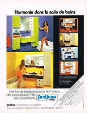 PUBLICITE ADVERTISING 034   1974   SANIJURA   sanitaires salle de bains