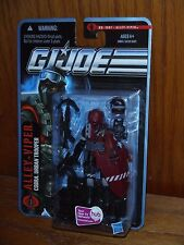 GI Joe POC Pursuit of Cobra Alley-Viper sealed USA MOMC MOC New