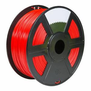 3D Printer Premium PETG Filament 1.75mm 1kg/2.2lb - red