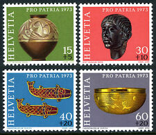 Switzerland B414-B417, MNH. Archaeological Treasures, 1973