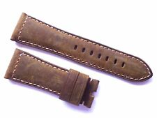 26mm Leather Strap compatible with Panerai - 26/22mm Dark Asso Band