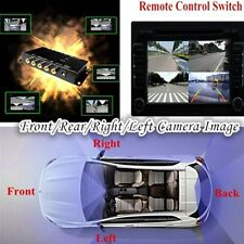 Reversing Aid Front/Rear/Right/Left Camera Parking View 4 Image IR Switch box