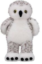 """Build a Bear Workshop Hedwig Snowy Owl Spotted Owl Harry Potter 14"""" Turner White"""