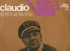 CLAUDIO VILLA disco LP 33 g  OMONIMO serie MUSIC PARADE  made in ITALY