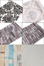 Self adhesive wallpaper sticker 10m PVC Waterproof 3D brick, damask, wood panel