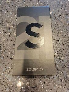 """Samsung Galaxy S21 Ultra SM-G998U 256GB 12GB RAM (FACTORY UNLOCKED) 6.8"""" SEALED"""