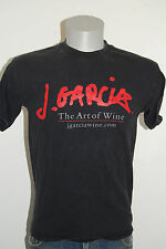 Jerry Garcia Art of Wine shirt M Make Your Mark contest Grateful Dead J black