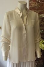 FRENCH CONNECTION CREAM SILK BLOUSE. BNWT. SIZE 8