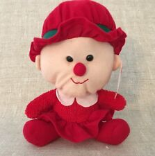 Santa Elf Plush Cuddly Cousins Christmas Holidays Red Suit Cute 7""