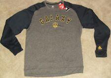 La L.A. Galaxy Mls Adidas Soccer Crew Neck Sweatshirt sz. Adult Large -New Tags-