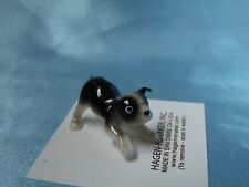 Hagen Renaker Dog Boston Terrier Pup Figurine Miniature 01760 Ceramic New