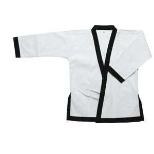 Moo Duk Kwan Jacket ONLY 12 oz Heavy Weight Uniform TangSooDo Karate-100% Cotton