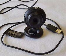 "Microsoft LifeCam VX-1000 Web Cam Adjustable Clip 70"" USB Cord"