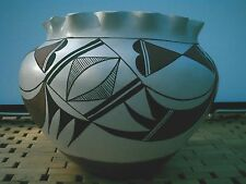 "Indian Pottery: Old LAGUNA, New Mexico M.W. Cheromiah Victorind ""Butterfly""1990"