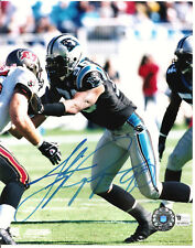JULIUS PEPPERS Panthers 8X10 Autographed Photo with Global COA #GV489154