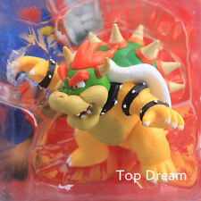"""Super Mario Brothers Action Figure Figurine Bowser Koopa Toy 4"""" Boxed"""