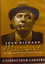 DVD MAIGRET - L'INSPECTEUR CADAVRE - Jean RICHARD - EPISODE 5
