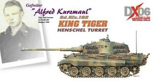 Dragon Armor 60223 1:72 King Tiger, A. Kurzmaul, 2/sAbt. 503, Budapest 1944