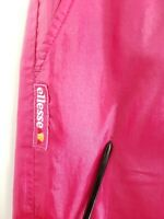 Vintage Ellesse Pink Track Windbreaker Pants Wind Mens Large