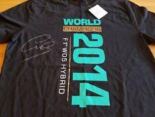 Lewis Hamilton Autographed 2014 World Championship Shirt. JSA COA.