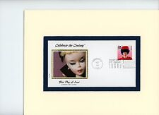 The Introduction of Barbie & First Day Cover of her own stamp