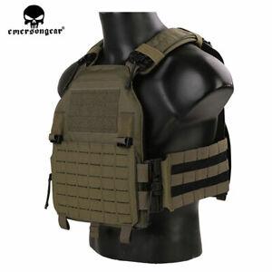 Emerson LVAC ASSAULT Tactical Combat Vest Molle ROC Quick Release Plate Carrier