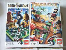 LEGO - GAME  PIRATE CODE 3840  AND MINI TAURUS 3864