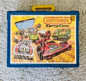 1976 24 Car Matchbox Car Case w/ Trays