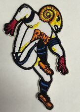 "Los Angeles/ St Louis Rams Vintage  EMBROIDERED IRON ON PATCH   NFL 3.5"" x 3"""