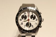 RETRO NICE ALL STAINLESS STEEL SWISS CHRONOGRAPH MEN'S QUARTZ UNBRANDED WATCH