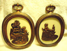 """Vintage COPPERCRAFT GUILD.. WALL HANGING BY DART.... MADE IN USA..14 1/2"""" X 10"""""""