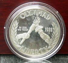 1 Dollar USA 1988 Olympiade Seoul Kapsel, Etui, Zertifikat