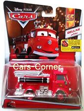 Disney Pixar Cars 2 red the firetruck #3 de Radiador Springs + 2014 + nuevo & OVP